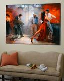 Tango Toile Murale Géante par Willem Haenraets