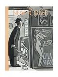 The New Yorker Cover - January 9  1954