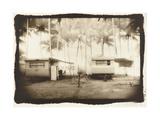 Two caravans  Queensland  Australia