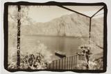 Rowboat on Lake Como