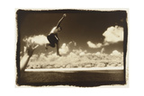 Boy Jumping off boat  Australia