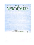 The New Yorker Cover - February 3  1973