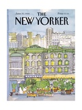 The New Yorker Cover - June 25  1984