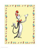 Cat in Hat Yellow Border Collection I - The Cat in the Hat (yellow bordered)