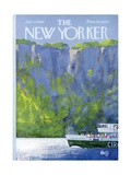 The New Yorker Cover - July 12  1969