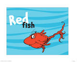 One Fish Two Fish Ocean Collection III - Red Fish (ocean)