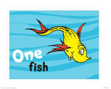 One Fish Two Fish Ocean Collection I - One Fish (ocean)
