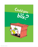 Green Eggs Would You Collection II - Could You in a Box (green)