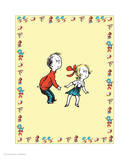 Cat in Hat Yellow Border Collection III - Sally & Her Brother (yellow bordered)