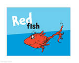 One Fish Two Fish Collection III - Red Fish (blue)