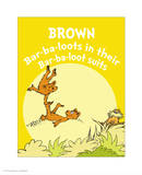 Brown Barbaloots (yellow)