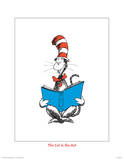 Seuss Treasures Collection III - The Cat in the Hat (white) Reproduction d'art par Theodor (Dr. Seuss) Geisel