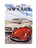 The New Yorker Cover - April 16  1966
