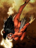 New Avengers No4 Cover: Spider Woman