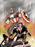 Wolverine Captain America No1 Cover: Wolverine and Captain America