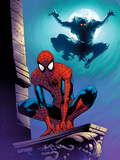 Ultimate Spider-Man No112 Cover: Spider-Man and Green Goblin