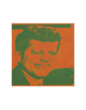Flash-November 22, 1963, 1968 (orange & green) Reproduction d'art par Andy Warhol