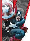 Avengers: Earths Mightiest Heroes No2 Cover: Captain America