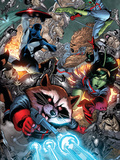 Guardians Of The Galaxy No8 Group: Rocket Raccoon  Major Victory  Bug and Mantis