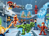 Marvel Super Hero Squad: Thor  Invisible Woman  Hulk  Iron Man  Spider-Man  and Thunderbolt Ross