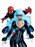 Spider-Man And The Black Cat No6 Cover: Spider-Man and Black Cat