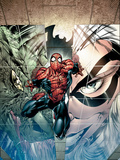 Sensational Spider-Man No24 Cover: Spider-Man  Lizard and Black Cat
