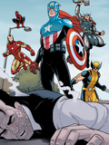 Heroic Age: One Month to Live No5: Captain America  Wolverine  Iron Man  Thor  and Spider-Man