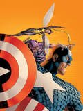 Avengers No77 Cover: Captain America  Wasp  Hawkeye and Avengers