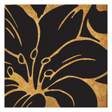 Black and Gold Flora 3