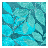 Turquoise Leaves 2