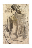 Seated Tahitian Nude from the Back