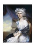 Portrait of Miss Sophia Vansittart