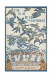 The Blue Bird of Happiness Postcard