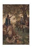 Tecumseh Shawnee Chieftain and William Henry Harrison