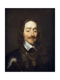 Portrait of King Charles I  Bust Length
