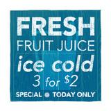 Fresh Juice Reproduction d'art par Kristin Emery