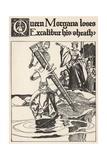 Queen Morgana Loses Excalibur His Sheath