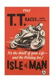 TT Races Isle of Man Poster