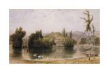Scene on the Virginia Water