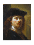Portrait of Rembrandt  Half Length
