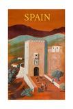 Spain Poster Giclée par Bernard Villemot