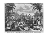 Funeral in the East Indies