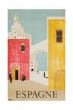 Espagne Poster Giclée par Bernard Villemot