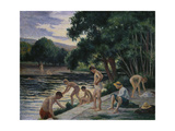 Bathers on the Banks of the Cure