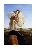 Portrait of the Duchess of Urbino  Battista Sforza