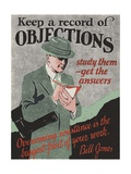 Keep a Record of Objections