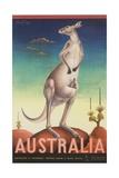 Australia Poster Giclée par Eileen Mayo