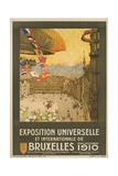 Exposition Universelle Et Internationale De Bruxelles Poster