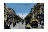 Color Print of Boulevard Montmartre  Paris
