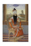Portrait of Sultan Fath Ali Shah Qajar